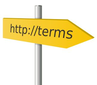 website terms of service